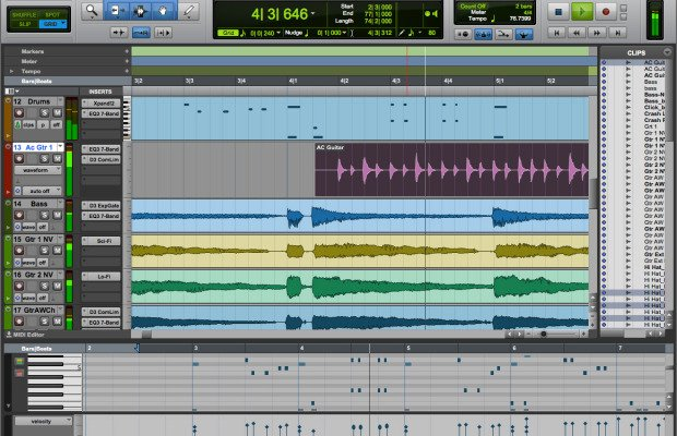 Pro Tools First Edit small
