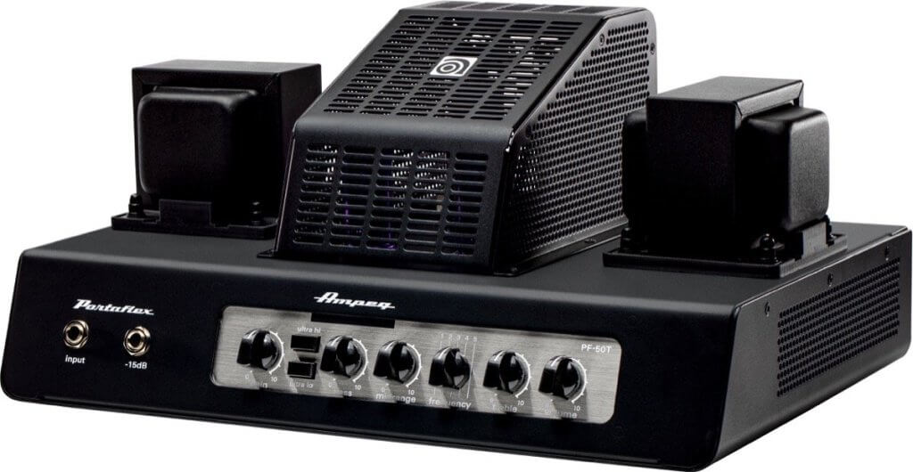 Ampeg pf50t tube bass head amp