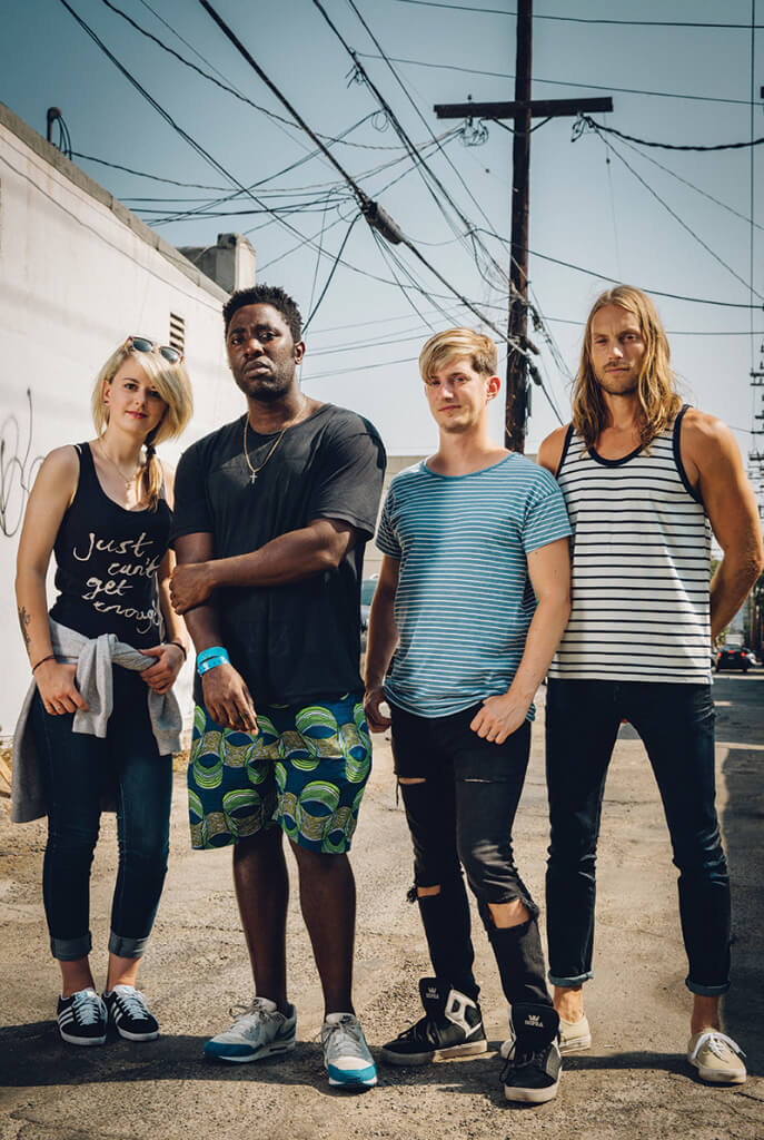 BLOC PARTY band photo
