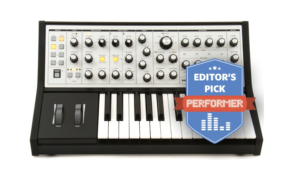 Moog Sub Phatty Editor's Pick Performer Magazine