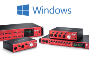 Focusrite Thunderbolt drivers for Windows