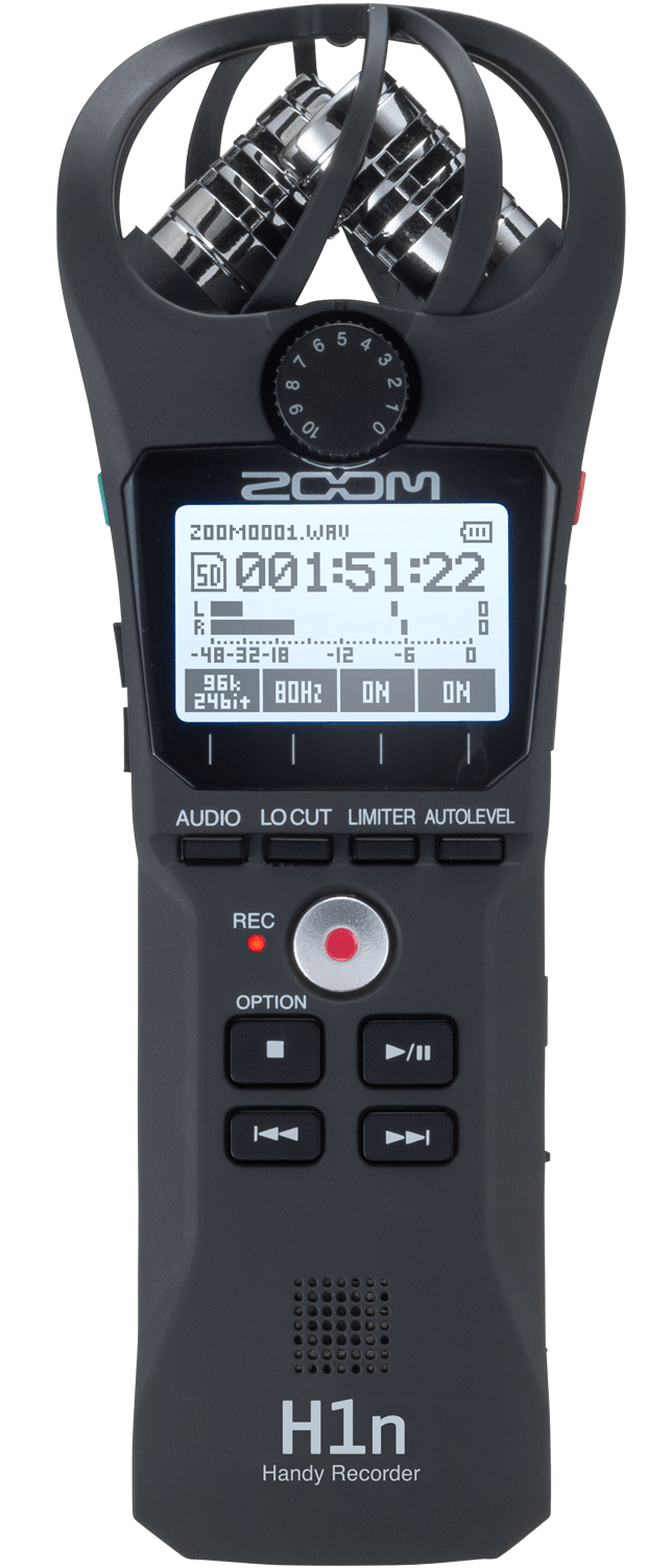 zoom h1n recorder