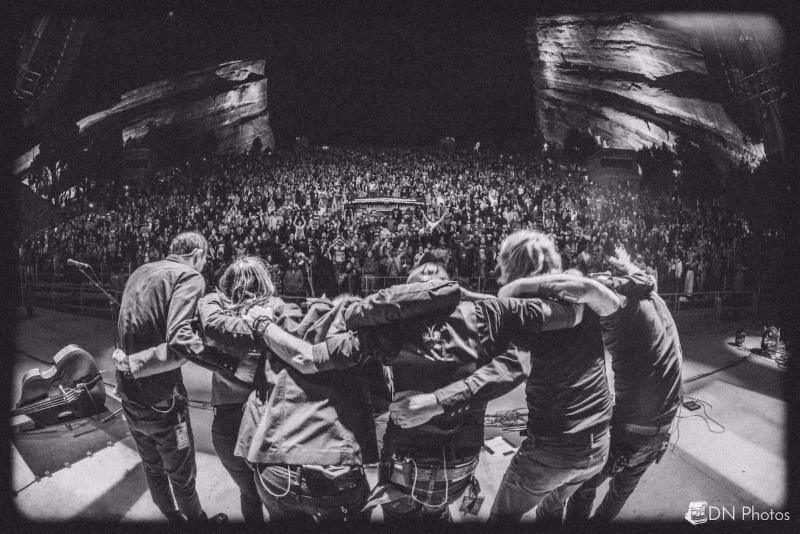 The Devil Makes Three at Red Rocks Amphitheater on May 27th. Photo Credit: David Novin